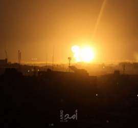 طائرات الاحتلال تواصل قصفها لأهداف في قطاع غزة