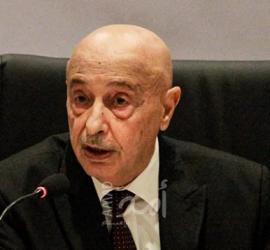 مجلس النواب الليبي ينفي خبر وفاة عقيلة صالح بحادث سير