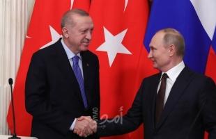 بوتين وأردوغان يبحثان العمل العسكري المشترك بين روسيا وتركيا في سوريا