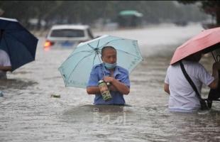ارتفاع حصيلة الفيضانات في وسط الصين إلى أكثر من 300 قتيل